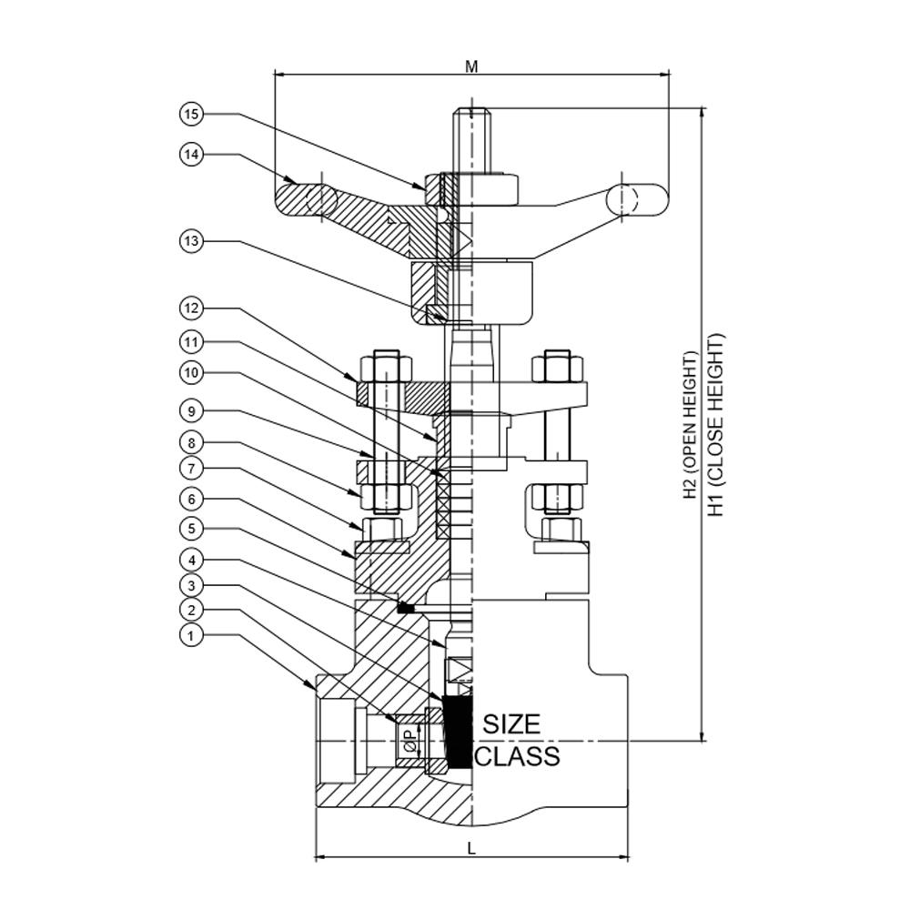 Gate valve samamat forged gate valve pooptronica Images